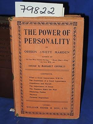 THE POWER OF PERSONALITY: MARDEN, ORISON SWETT