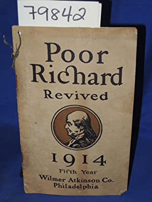 POOR RICHARD REVIVED 1914 FIFTH YEAR: FRANKLIN, BEN