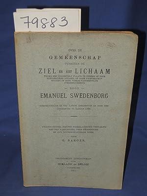 OVER DE GEMEENSCHAP TUSSCHEN DE ZIEL EN: Swedenborg, Emanuel