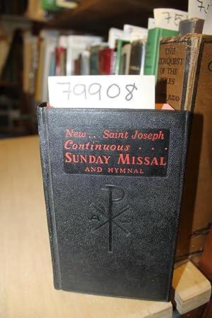 New Saint Joseph Sunday Missal and Hymnal: Goodwine, John A.