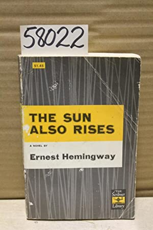 hemingway the sun also rises thesis The sun also rises term papers available at planet paperscom, the largest free term paper community.