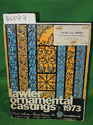 LAWLER ORNAMENTAL CASTINGS 1973 CATALOGUE: LAWLER MACHINE