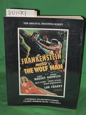FRANKENSTEIN MEETS THE WOLF MAN (The Original Shooting Script): RILEY, PHILIP J.