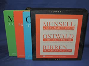 A Grammar of Color, The Color Primer, Principles of Colour. (Boxed Set): Munsell, Ostwald, Birren