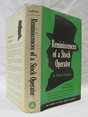 Reminiscences Of A Stock Operator: Lefevre, Edwin