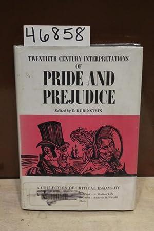 Twentieth Century Interpretations of Pride and Predjudice A collection of Critical Essays: ...