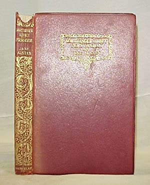 Northanger Abbey and Persuasion 1921 leather: Austen, Jane