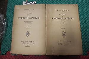 Traité De Sociologie Générale - 2 Volume Set: Pareto, Vilfredo; Boven, Pierre ...