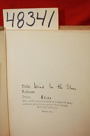 Wind in the Elms: Derleth, August