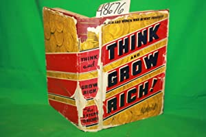 Think and Grow Rich 1937 DJ TATTERED: Hill, Napoleon