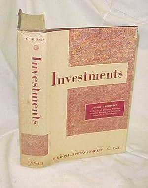 Investments: Grodinsky, Julius