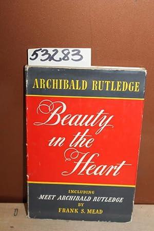 Beauty in the Heart: Rutledge, Archibald
