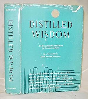 Distilled Wisdom: Montapert, Alfred Armand Signed & inscribed