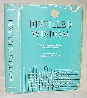 Distilled Wisdom: Montapert, Alfred Armand