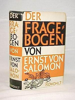 Der Fragebogen: Salomon, Ernst von