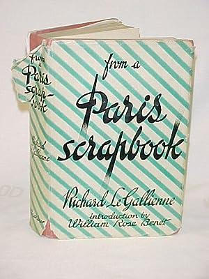 From A Paris Scrapbook: Gallienne, Richard le