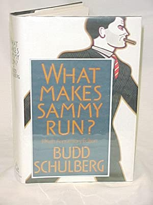 What Makes Sammy Run? Fiftieth Anniversary Edition, Signed: Schulberg, Budd