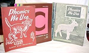 Phonics We Use Workbooks A, B, D,: LYONS & CARNAHAN