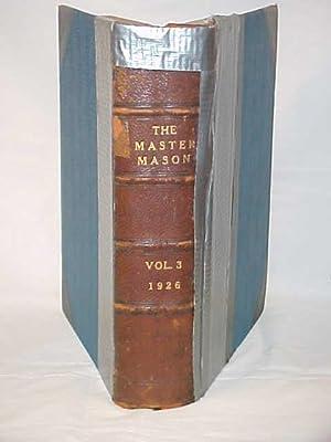 The Master Mason, Volume III - Number I: Newton, Joseph Fort (editor)