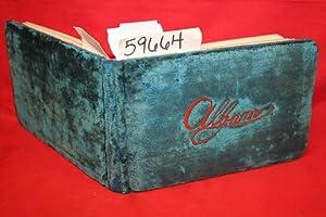 Aldine Autograph Album Decorated Spaces & Lines for Sentiment & Name C.L.S.C.: Wilson, ...