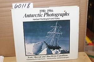Antarctic Photographs 1910-1916: Ponting, Herbert & Hurley, Frank