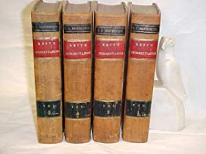 Commentaries on American Law Vols. 1-4: Kent, James