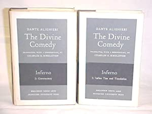 The Divine Comedy; Inferno, Italian Text and Translation (2 Vols.): Alighieri, Dante
