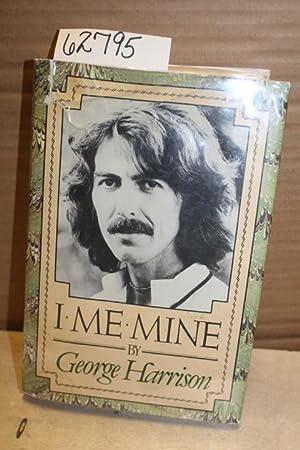 I Me Mine: Harrison, George