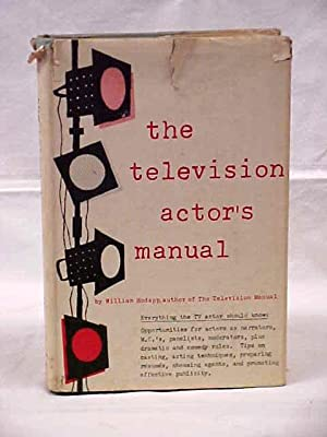The Television Actor's Manual: Hodapp, William
