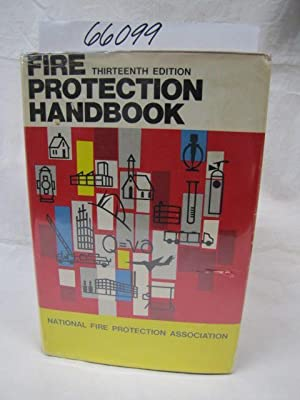 Fire Protection Handbook - REVISED Thirteenth Edition: Tryon, George and McKinnon, Gordon P.