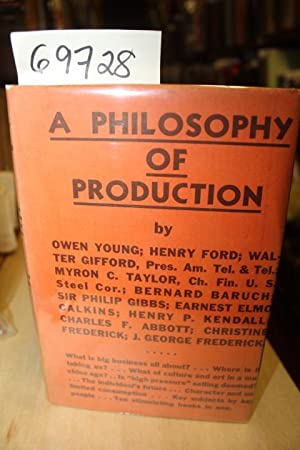 A Philisophy of Production: Young, Owen, Ford