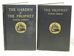 The Prophet & The Garden of the Prophet (2 books): Gibran, Kahlil