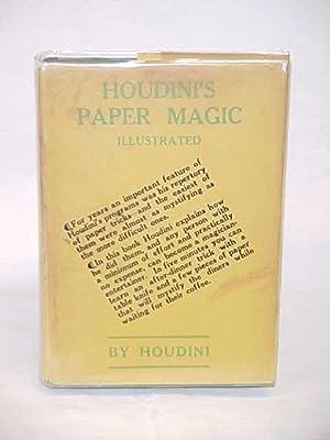 HOUDINI'S PAPER MAGIC Illustrated: HOUDINI