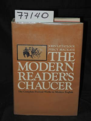 The Complete Poetical Works of Geoffrey Chaucer: Tatlock, John S.P.