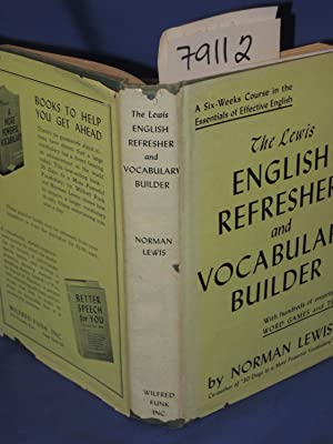 THE LEWIS ENGLISH REFRESHER AND VOCABULARY BUILDER: Lewis, Norman
