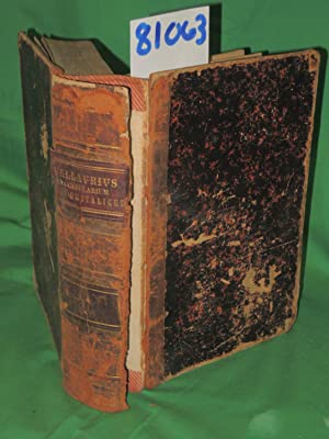 Lexicon Latini Italiqve Sermonis in Vsvm Scholarvm Novvm in Ordinem Digestum Atqve Emendatvm Volume...