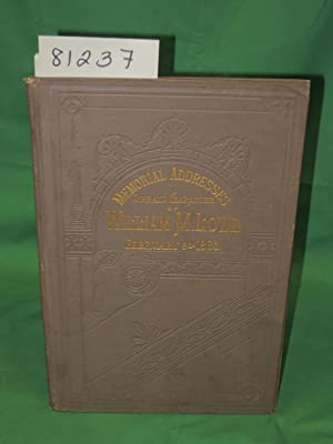 William M. Lowe, Memorial Addresses on the Life and Character of William M. Lowe, 1883A ...