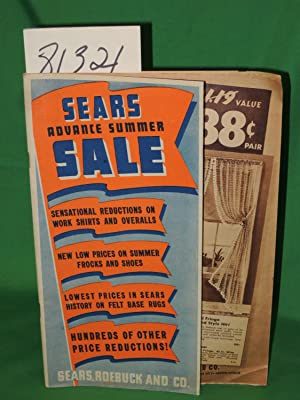 Advance Summer Sale: Sears, Roebuck and Co
