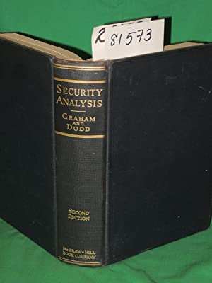 Security Analysis: Principles and Technique: Graham, Benjamin and