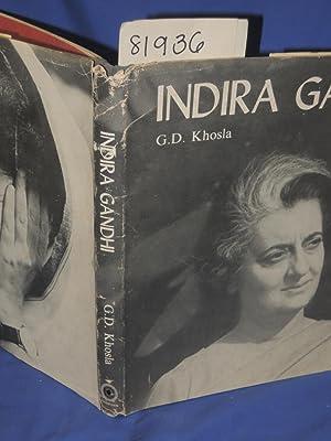 Indira Gandhi: Kosla, G.D.