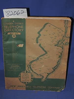 Camden Disctrict Telephone Directory: New Jersey Bell Telephone Company