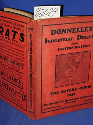 Donnelley's Industrial Directory of the Eastern Disctrict: The Buyers' Guide 1930: ...