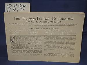 Hudson-Fulton Celebration Albany, N. Y. October 7 and 8 1909: Hutchins, Mason C
