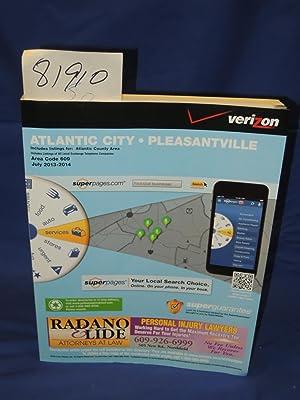 Atlantic City Pleasantville Verizon Phone Book 2013-2014 Yellow Pages: Phone Book