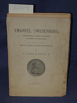 Cosmologica II.: Swedenborg, Emanuel