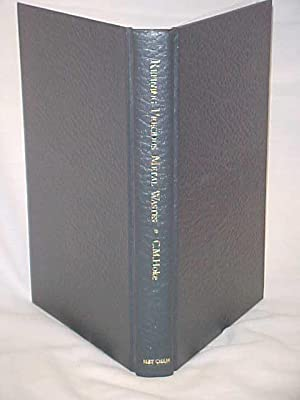 Refining Precious Metal Wastes; A Handbook for the Jeweler, Dentist, and Small Refiner: Hoke, C M