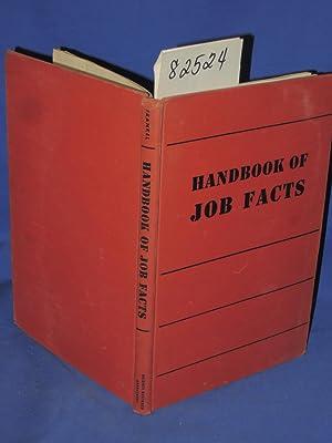 Handbook of Job Facts: Frankel, Alice Helen