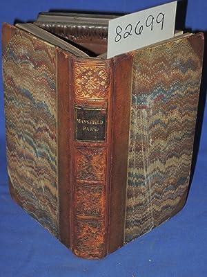Mansfield Park, A Novel 1837: Austen, Jane