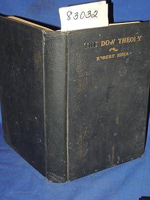 The Dow Theory: Rhea, Robert