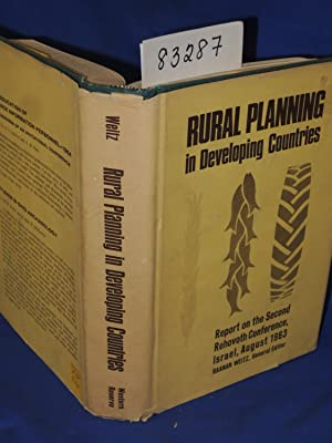 Rural Planning in Developing Countries - Report on the Second Rehovoth Conference Israel, August ...